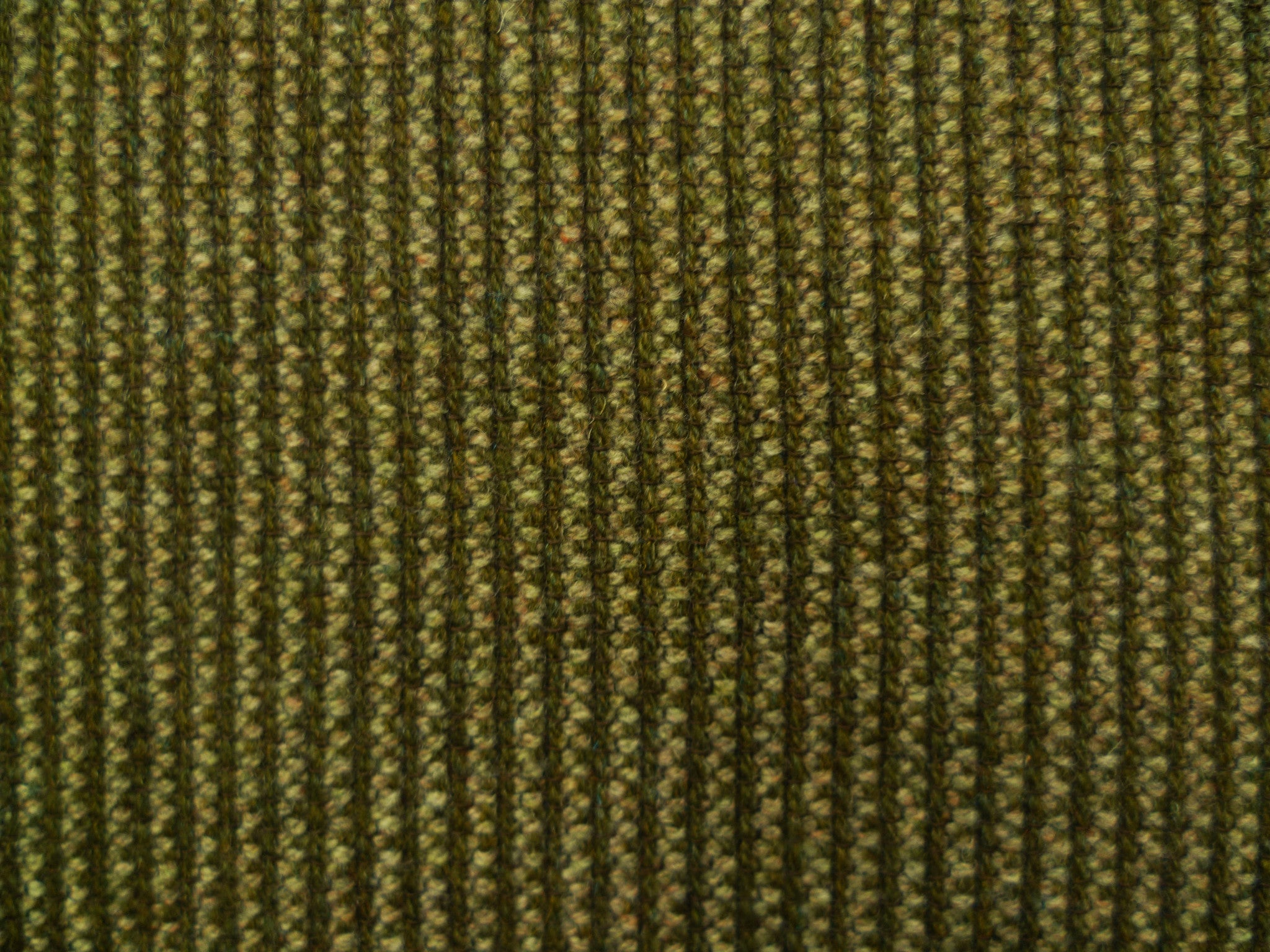 Moss Ribbed Wool