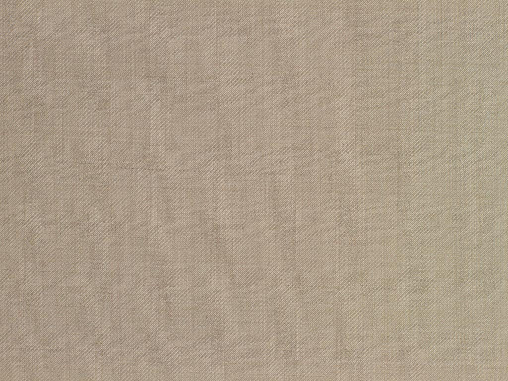 Twilled Beige Wool-Cashmere Worsted
