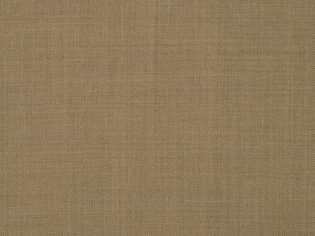 Solid Beige Wool Worsted