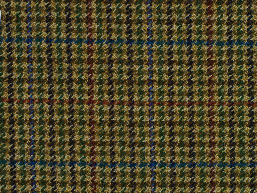 Multicoloured Miniature Houndstooth
