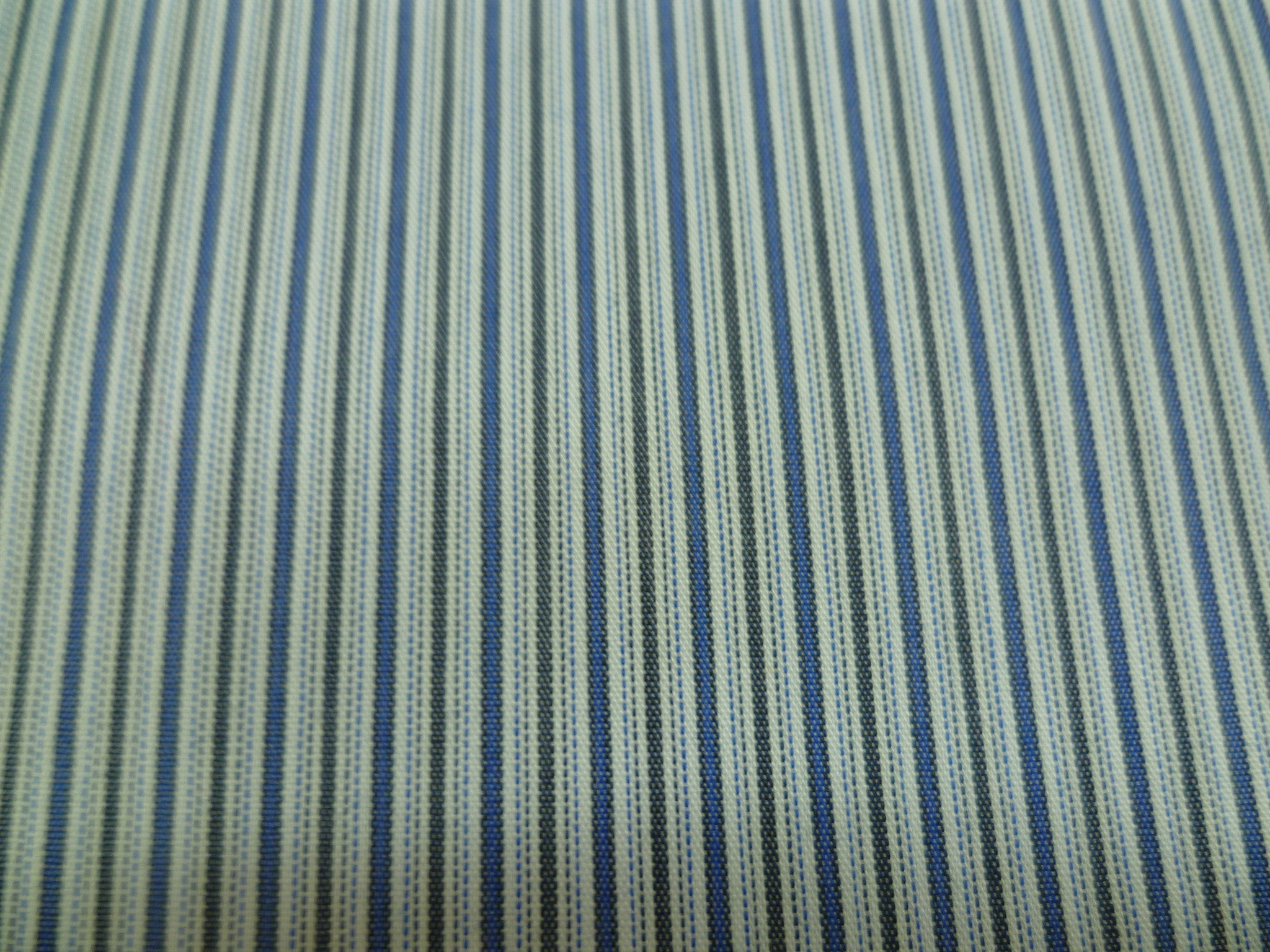 Navy, black and grey stripe
