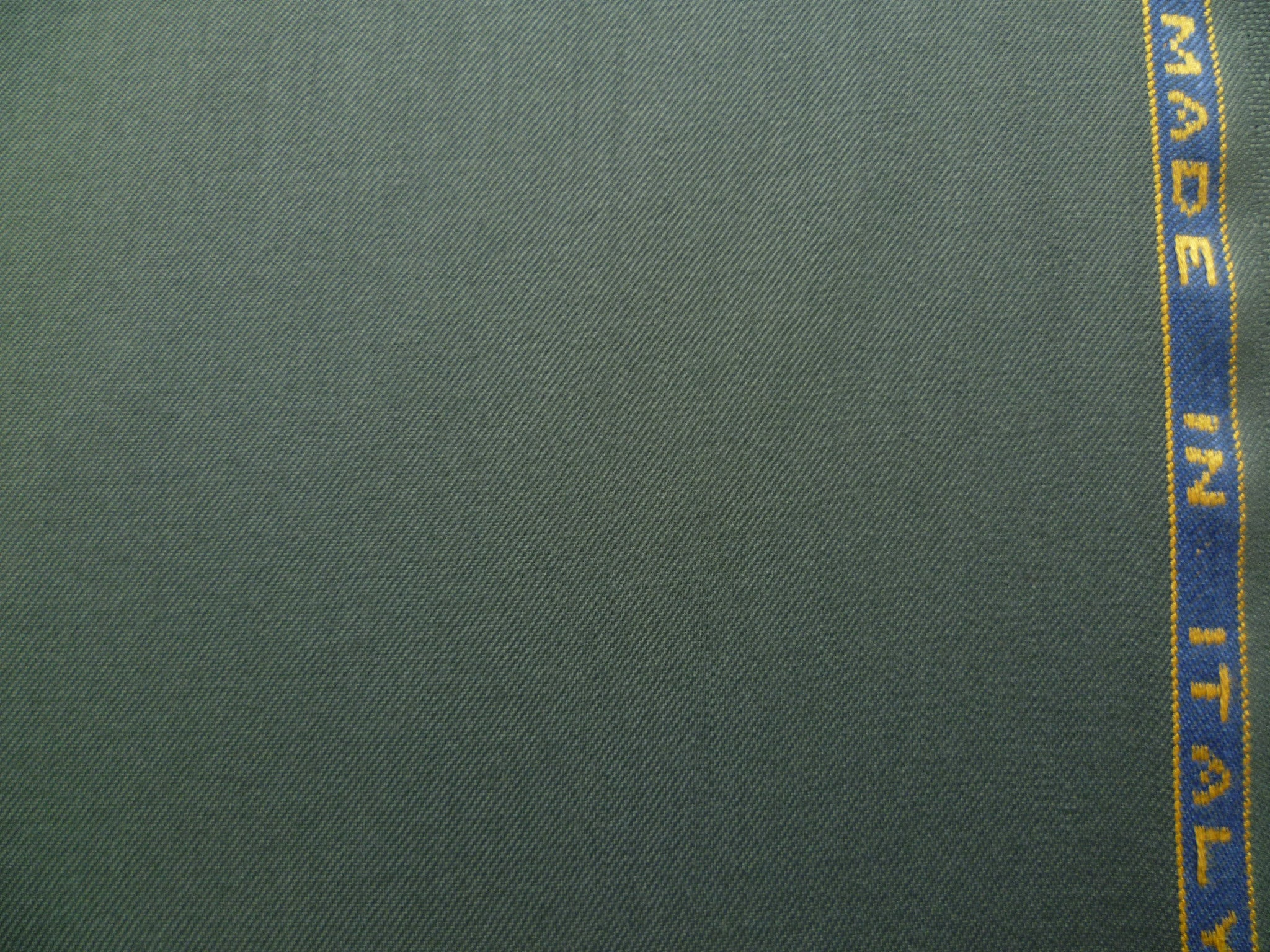 Slate  Grey Wool Worsted Gabardine