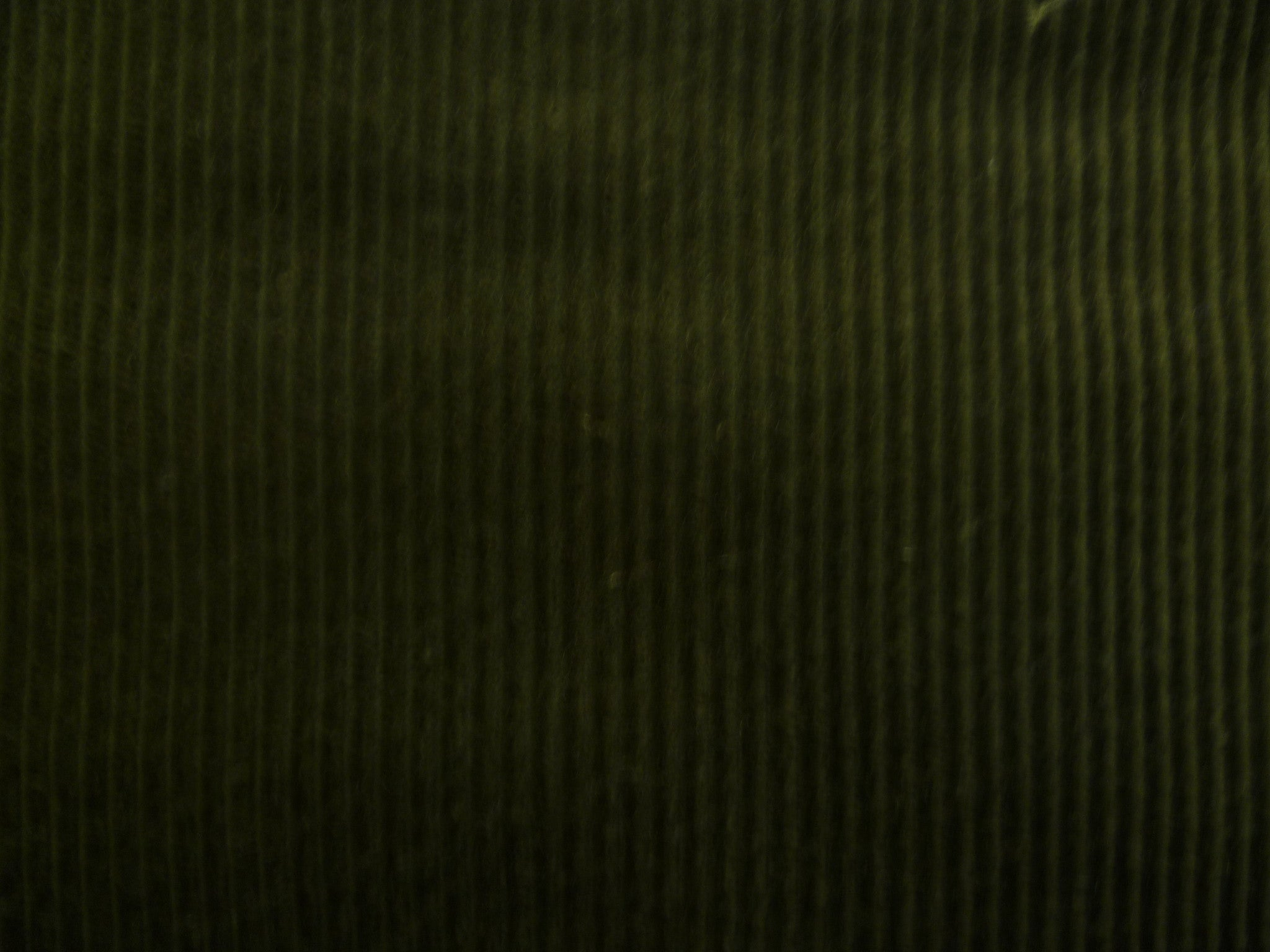 Thin Wale Forest Green Corduroy, 100% German cotton.  Limited Quantity