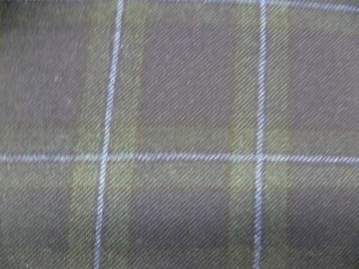 100 % Wool Tartan. ( From Scotland )