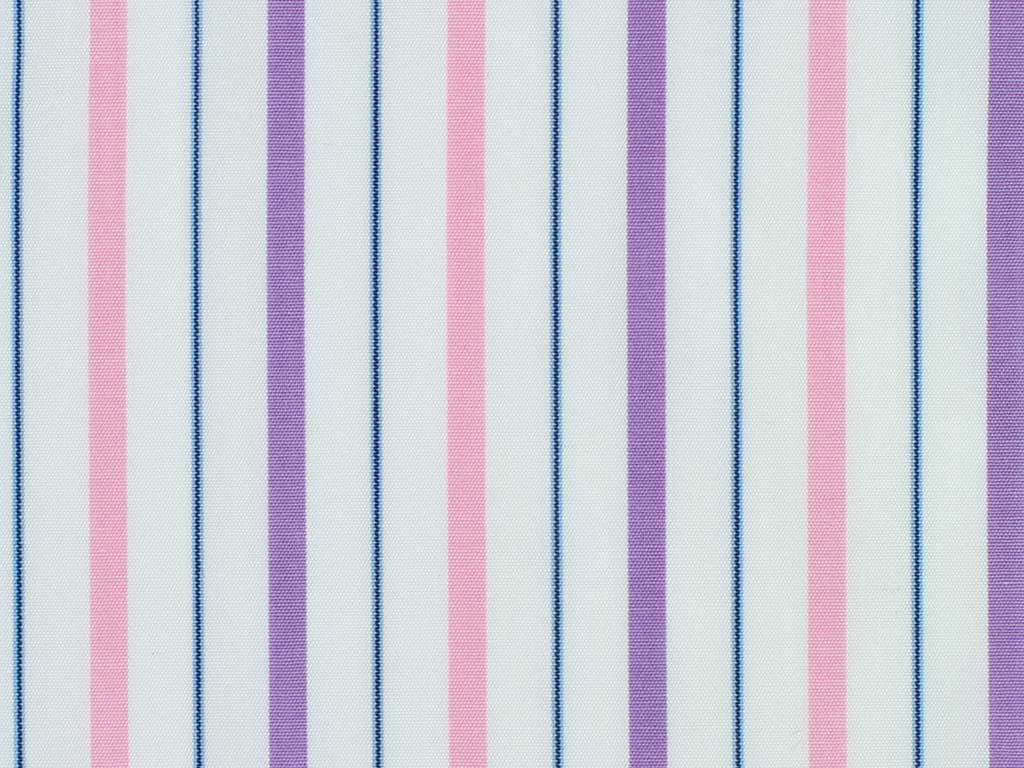 White, Purple, Pink, and Blue Striped Cotton