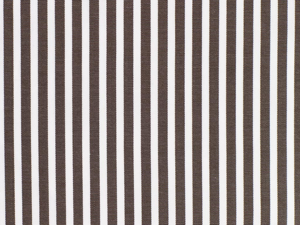 White and Pewter Striped Cotton