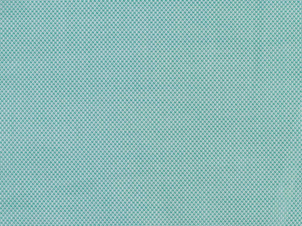 Teal, Green and Blue Oxford Pique Patterned Cotton
