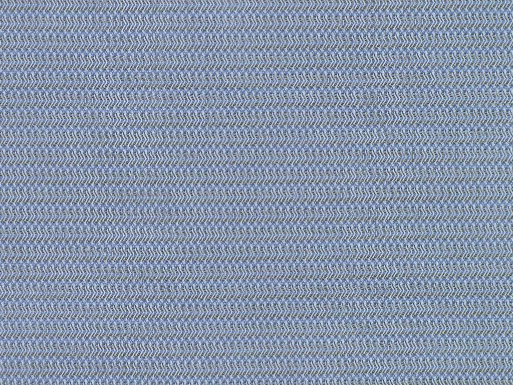 Sky Blue and Taupe Inverted Herringbone Cotton