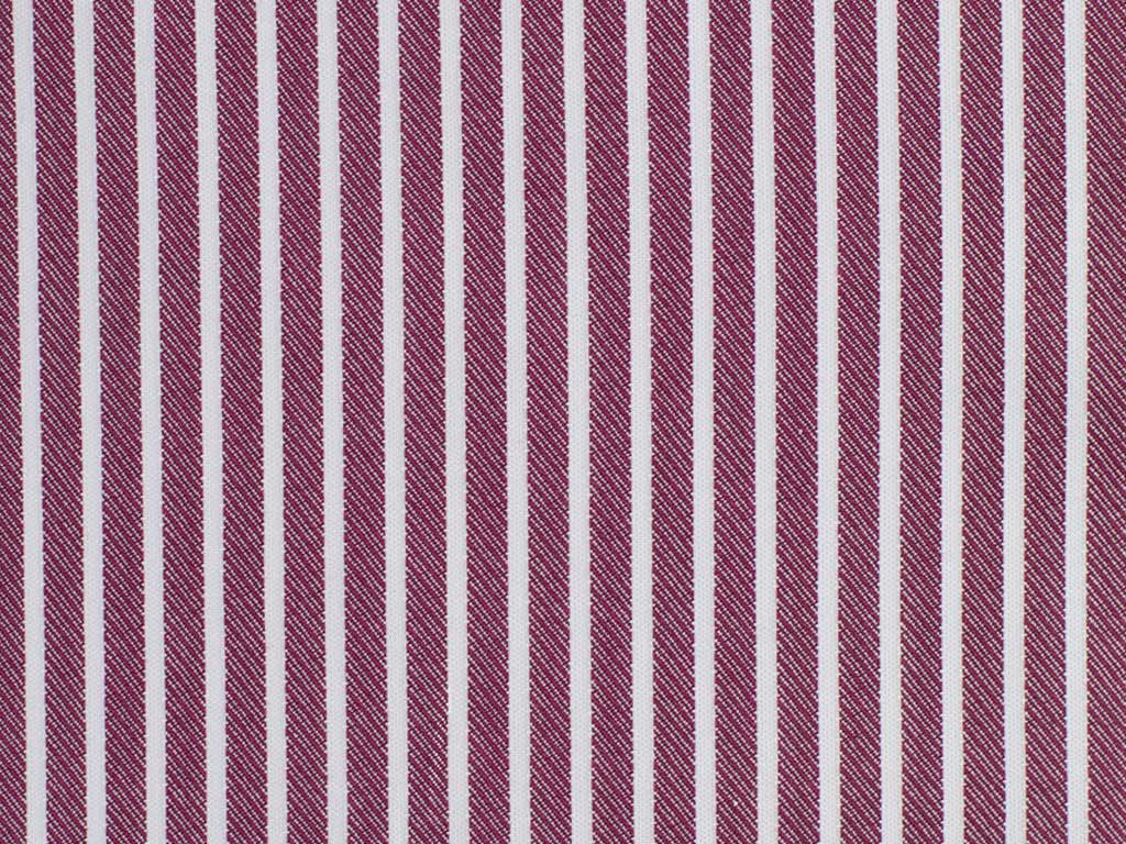 White and Twilled Dusty Rose Striped Cotton