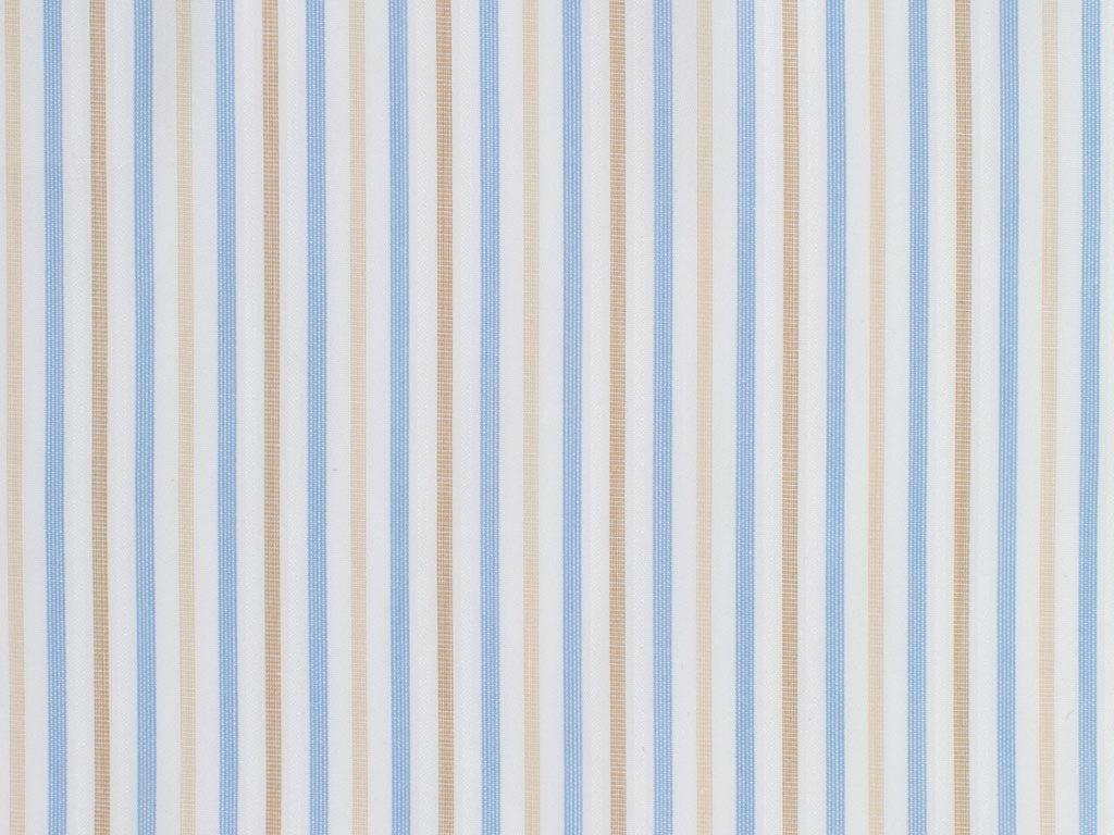 Raised White, Tan, and Beige Striped Cotton
