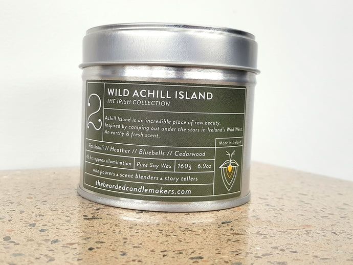 Image of Wild Achill Island Candle lid on