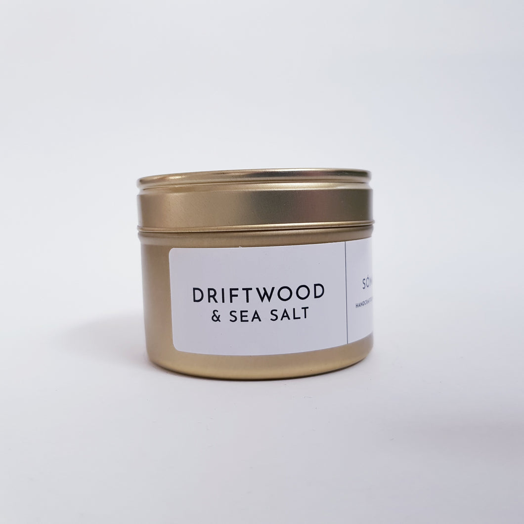 Somas - Driftwood and Sea Salt Scented Candle Travel Size