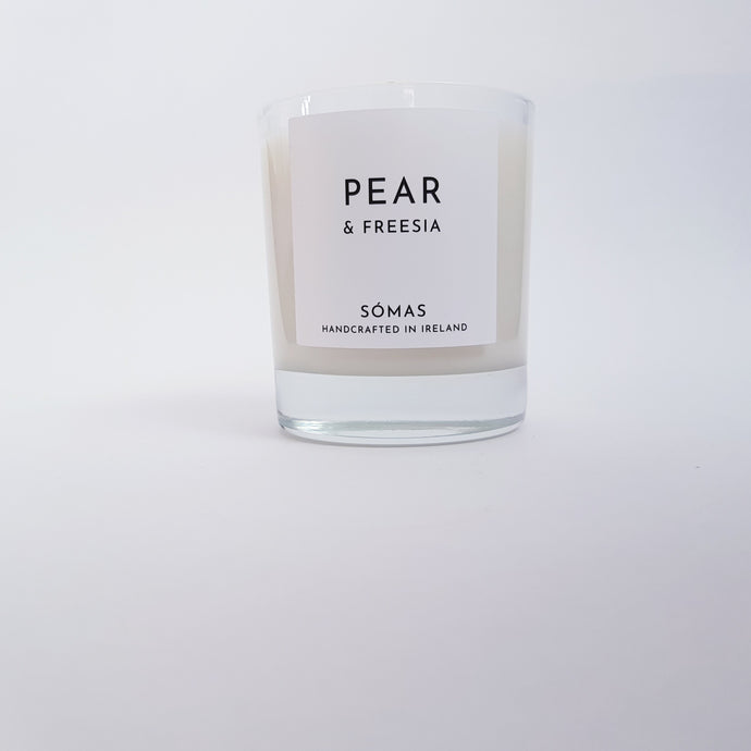 Somas - Pear and Freesia Scented Candle