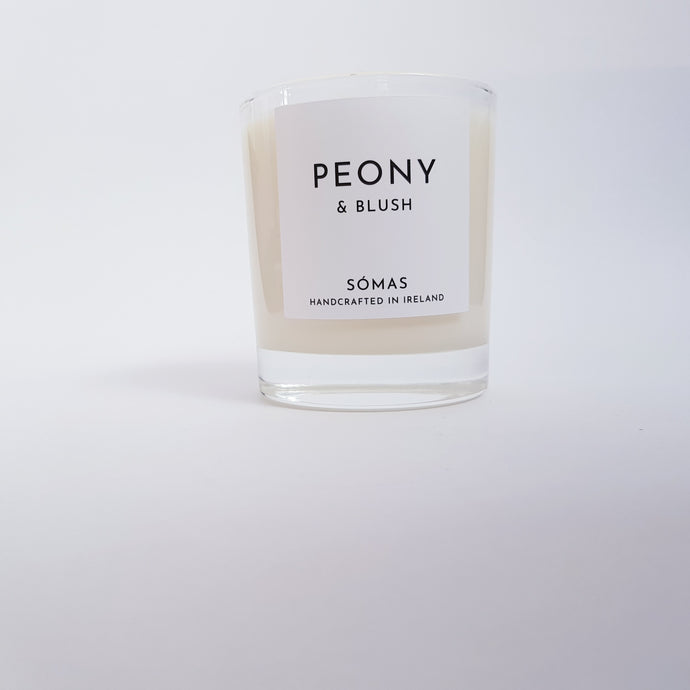Somas - Peony and Blush Scented Candle