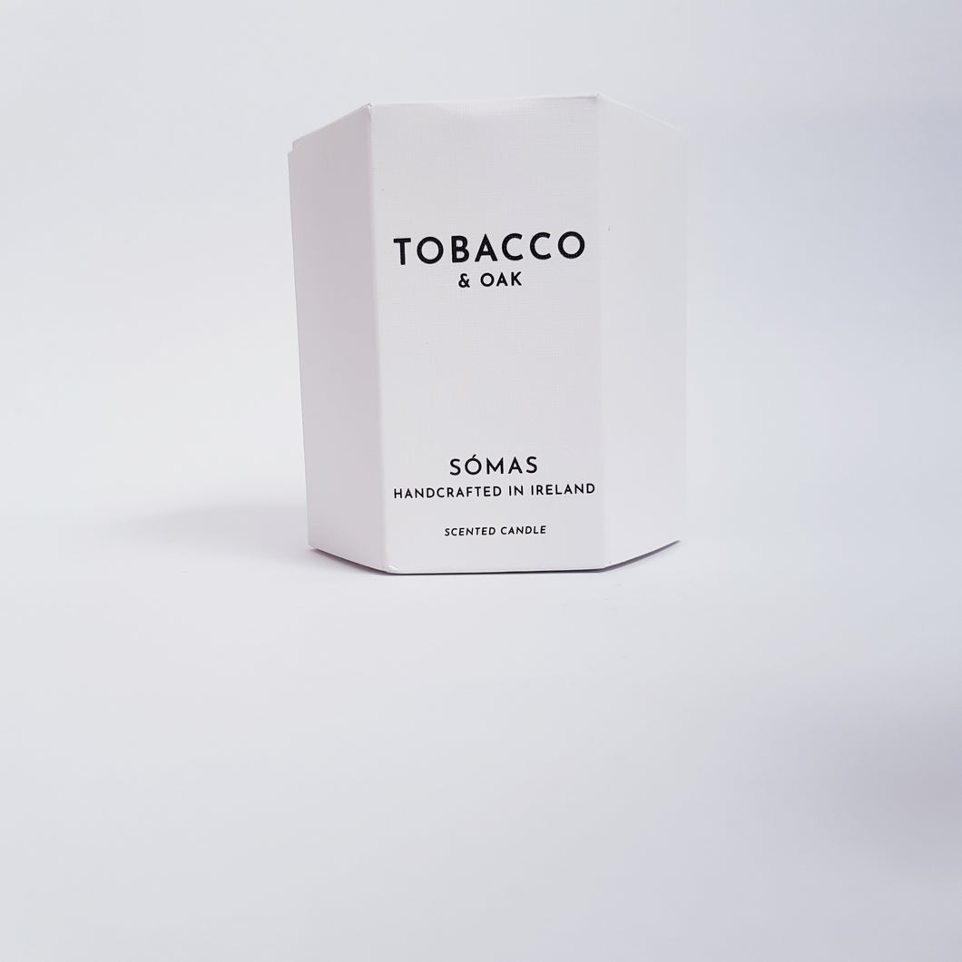 Somas - Tobacco and Oak Scented Candle