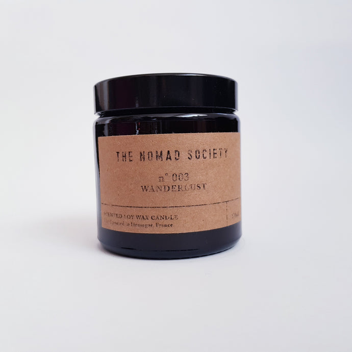 Nomad Society- Wanderlust Scented Candle