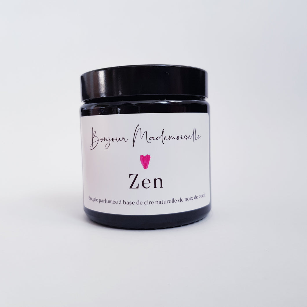 Bonjour Mademoiselle - Zen Scented Candle
