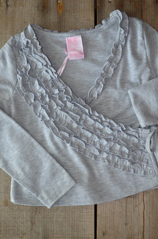 ZR - mini-ruffle cardigan
