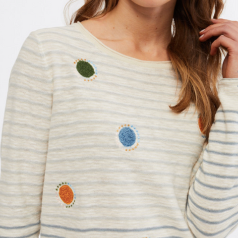 WS - Floating spot sweater