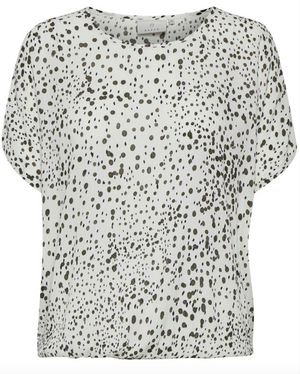 KA - Debra dotted blouse