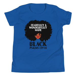 Fearfully & Wonderfully Made Black - Youth
