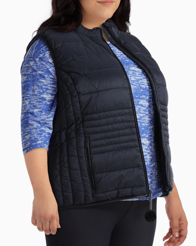 Juniper Packable Puffer Vest | Black | (Master)