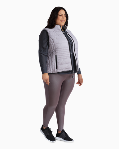 Juniper Packable Puffer Vest | Lilac