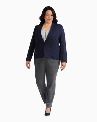 Utopian One-Button Blazer | Navy