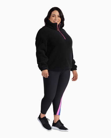 Mercer Performance Legging | Black / Pink | (Master)