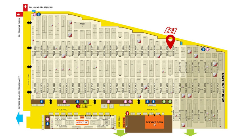 K1 Booth Location PRI 2017