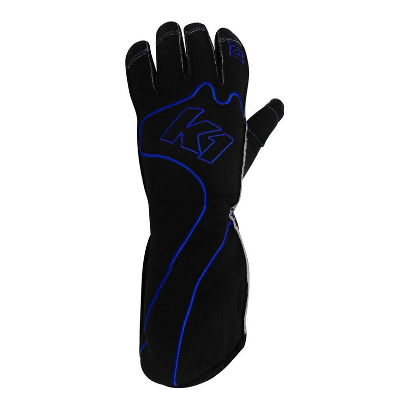 K1 RaceGear RS1 Kart Racing Glove - Blue