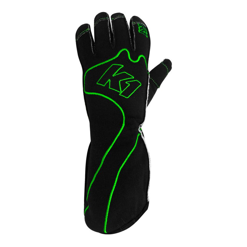 K1 RaceGear RS1 Kart Racing Glove - Green