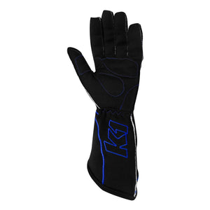 K1 RaceGear RS1 Kart Racing Glove - Blue Palm
