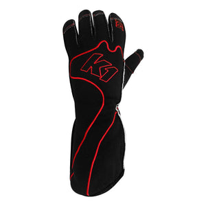 K1 RaceGear RS1 Kart Racing Glove - Red