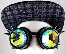 Load image into Gallery viewer, Honeycomb Kaleidoscope Goggles - Spike Frames