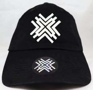 Ponytail Hat - White Logo
