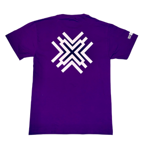 Playful Purple X Tee