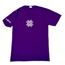 Load image into Gallery viewer, Playful Purple X Tee