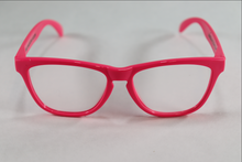 Load image into Gallery viewer, Wayfarer Spiral Diffraction Glasses - Pink