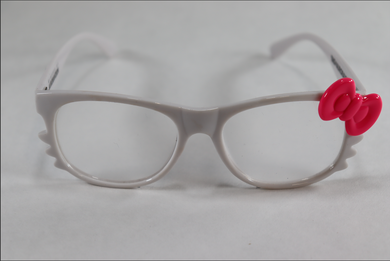 Hello Kitty Single Diffraction Glasses - White
