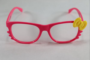Hello Kitty Single Diffraction Glasses - Pink