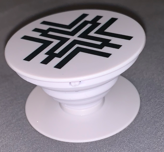 White Pop Socket