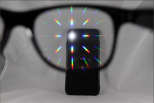 Load image into Gallery viewer, Wayfarer Single Diffraction Glasses - White
