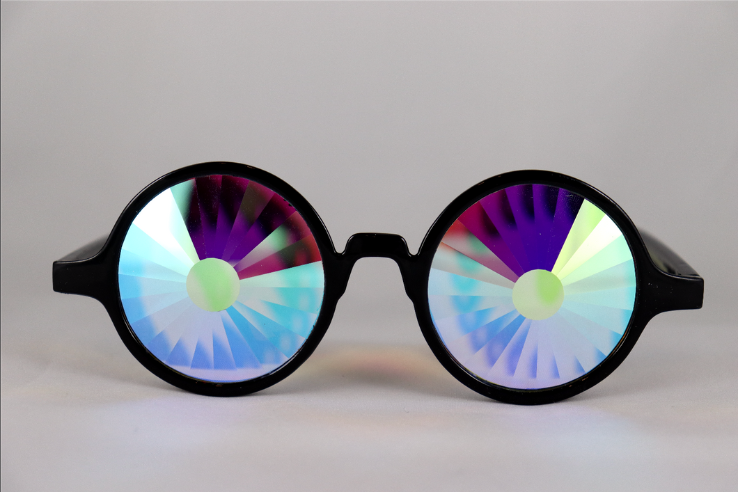 Portal Kaleidoscope Glasses - Assorted Round Frames