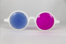 Load image into Gallery viewer, Pink & Blue Kaleidoscope Glasses - Assorted Round Frames