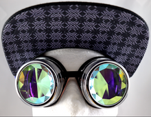 Load image into Gallery viewer, Honeycomb Kaleidoscope Goggles - Assorted Frames