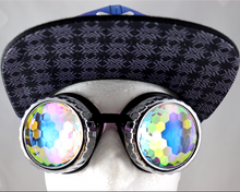 Load image into Gallery viewer, Diamond Kaleidoscope Goggles - Vented Frames