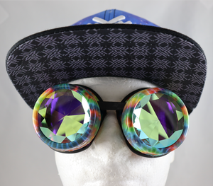 Diamond Kaleidoscope Goggles - Assorted Frames