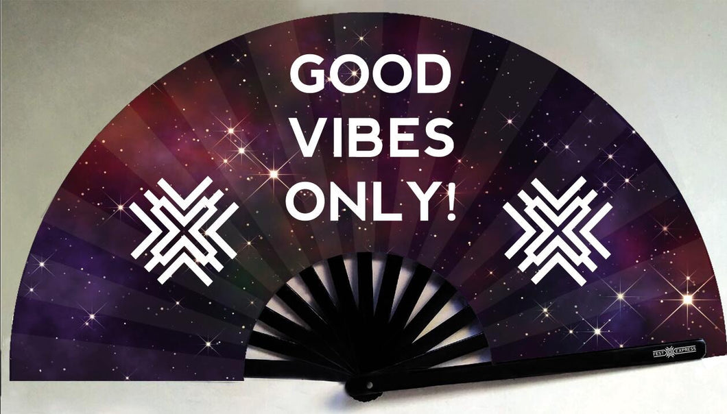 Good Vibes Only Fan