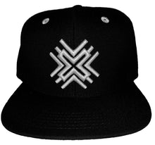 Load image into Gallery viewer, Black SnapBack Hat
